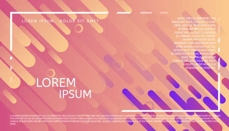 Modern universal header in abstract graphic design. Futuristic geometric background. Applicable for Banners, Placards, Posters, and Banner Designs. Illustration
