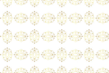 seamless golden vintage fabric pattern Stock Vector - 9050480