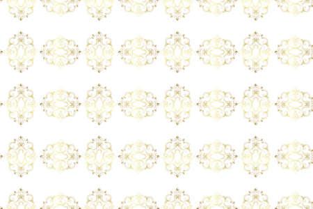 seamless golden vintage fabric pattern Stock Vector - 9050480