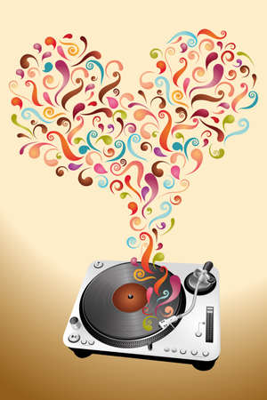 Music lovers  Vector