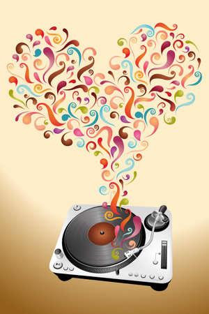 Music lovers Stock Vector - 11103973