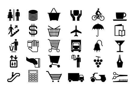 Black icons for life - Set 2