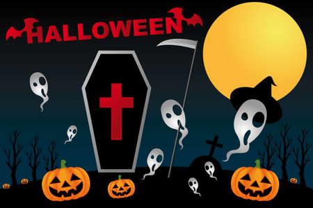 Halloween background Stock Vector - 13205242