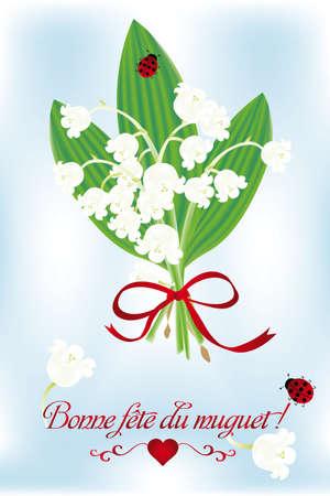 El primero de mayo en Francia - en un gesto de amistad y en la celebraci�n de la primavera