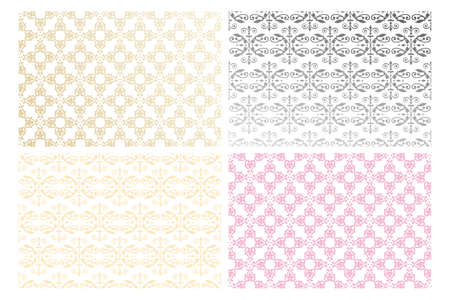 Floral seamless pattern for backgrounds, fabric and more  Stock Vector - 21962350