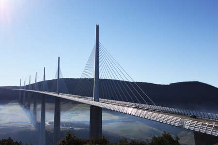 bridgework: Millau Viaduct in France - Europe
