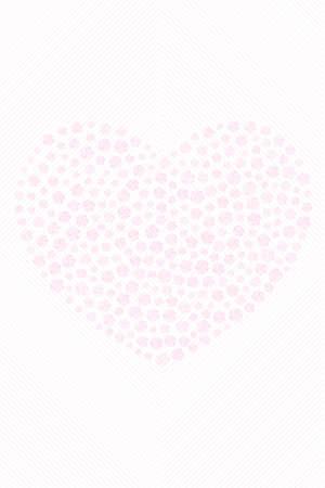 My diamond - my valentine fine art - unique heart illustration made by pink diamonds