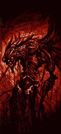 mistic: Devil red