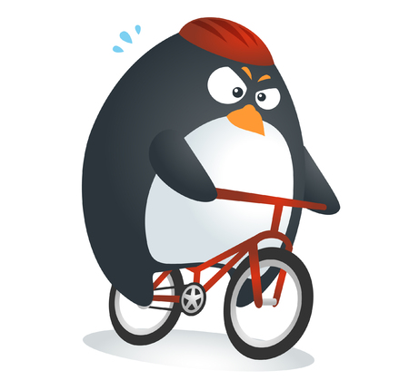 Fit Penguin : Bicycle