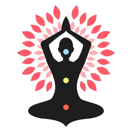 Yoga Meditation Magenta Chakra Aura