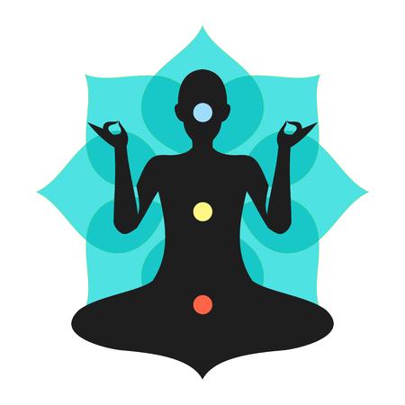 Yoga Meditation Torquise Chakra Aura