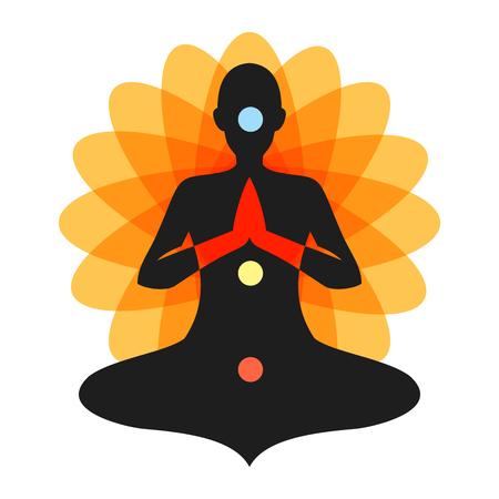 Yoga Meditation Orange Chakra Aura