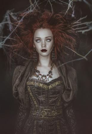czarownica: martwe czarownica Zdjęcie Seryjne