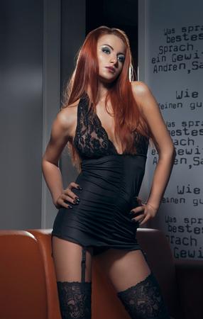 sexy young girl: Сексуальная женщина в нижнем белье