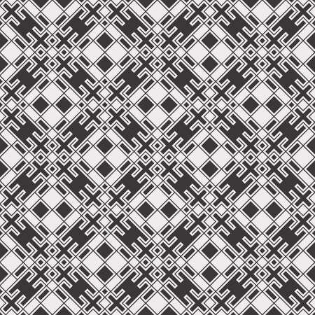 repetition row: Abstract seamless geometric pattern.