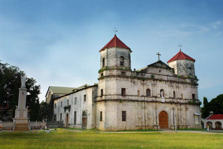 Old historical baroque Filipino church in the coastal town of Loon, Bohol, Philippines. The Birhen sa Kasilak (Our Lady of Light) was transferred here in 1610 after Muslim bandits attacked and looted Butuan, Mindanao. Largest in the Visayas.