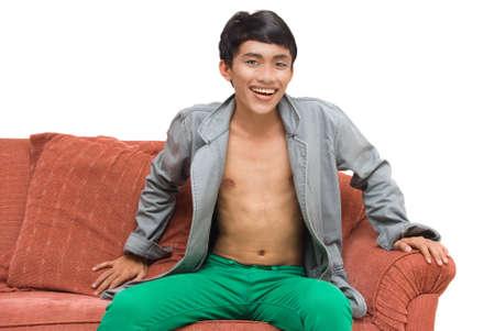 Metrosexual fashionista