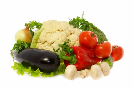 Vegetables and mushrooms Stock Photo - 947354