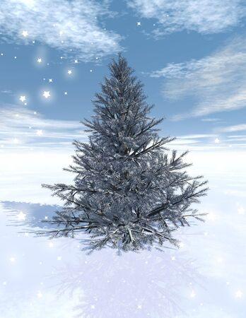 fiambres: �rbol de Navidad