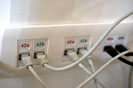Sockets for rj 45 internet for office with PC