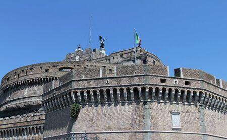 Castel San Angelo or Saint Angelo Castle, Rome  Stock Photo - 15490676