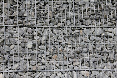 stacked stones: Stone wall use for construction business and designers Stock Photo