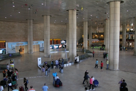 Picture of Ben Gurion airport in Tel Aviv (Israel) Stock Photo - 15621068