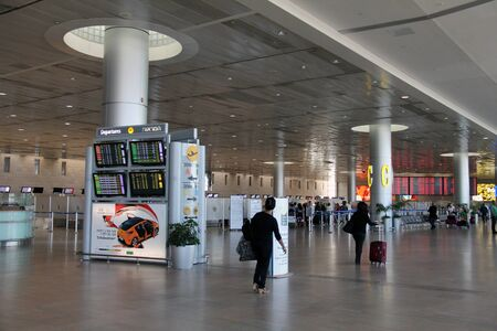 Picture of Ben Gurion airport in Tel Aviv (Israel) Stock Photo - 15621065