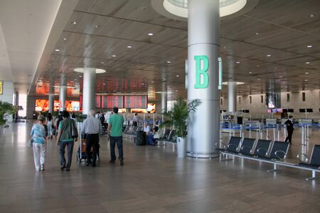 Picture of Ben Gurion airport in Tel Aviv (Israel) Stock Photo - 15621063