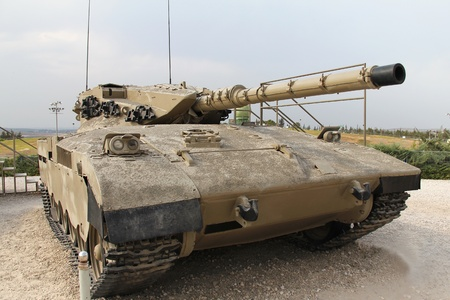 mk: Israel� Merkava Mk I tanque Editorial