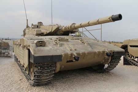 firepower:  Israeli Merkava Mk II tank