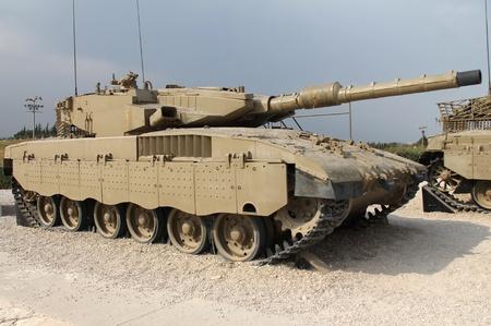 Israeli Merkava Mk III tank Stock Photo - 15669978