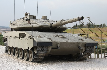 Israeli Merkava Mk IV tank Stock Photo - 15669975
