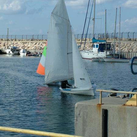 Boats at the marina  Ashdod  Israel Stock Photo - 16581910