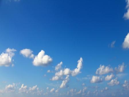 Blue sky background Standard-Bild