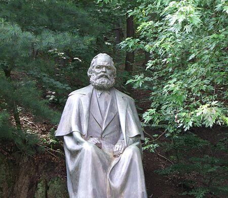 Karl Marx in Carlsbad Stock Photo - 16627952
