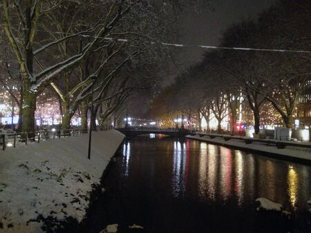 Dusseldorf winter Stock Photo - 16921718