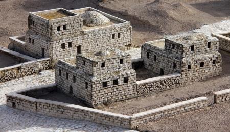 Model of the ancient Jerusalem Stock Photo - 17163946