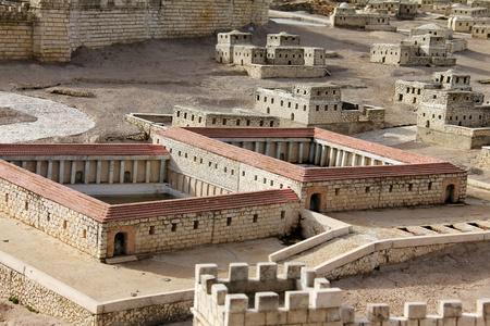 sacred source: Sheep source market in ancient Jerusalem