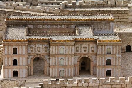helena:  Palace of Adiabene  Empress Helena  Stock Photo