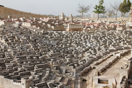 Model of the ancient Jerusalem  Lower town