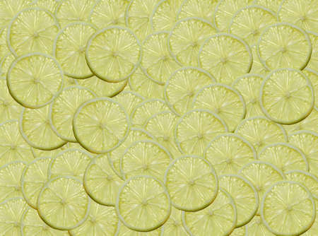 A slices of Lemon illuminated from behind Stock Photo - 17164072