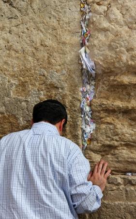 통곡의 벽 예루살렘, 이스라엘에서 중요한 유태인 종교 사이트에서 유대인 숭배기도 에디토리얼