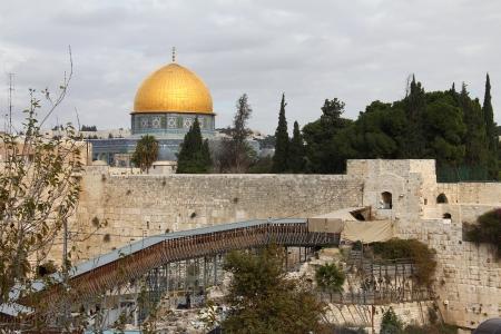 통곡의 벽 (Western Wall) 중요한 유태인 종교 사이트 예루살렘, 이스라엘