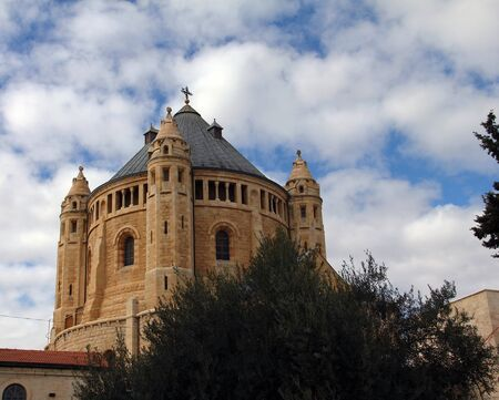 Church of Dormition on Mount Zion   Jerusalem, Israel photo
