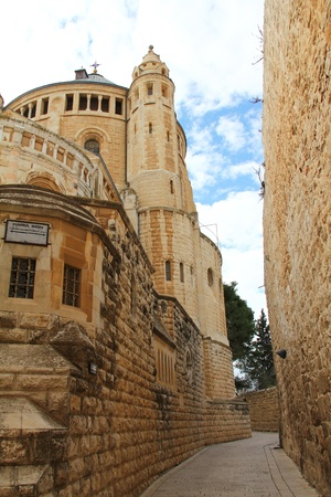Church of Dormition on Mount Zion  Jerusalem, Israel Stock Photo - 17430834