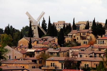Panorama of West Jerusalem  Yemin Moshe neighborhood , Israel  Stock Photo - 17435736