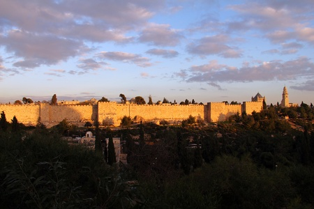 grandiose: The ancient walls of the Old City of Jerusalem