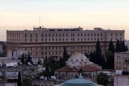 King David Hotel at dawn   Jerusalem