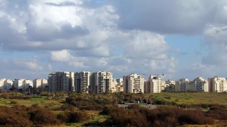 ramat aviv: New Ramat Aviv - the modern district of Tel Aviv Stock Photo
